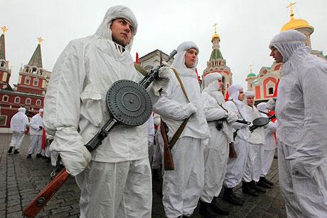 Rus tankları Kızıl Meydan'da! galerisi resim 11