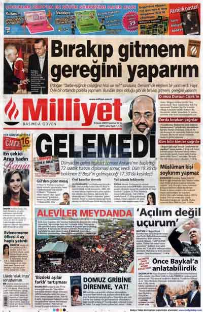 Gazete manşetleri (9 Kasım) galerisi resim 15