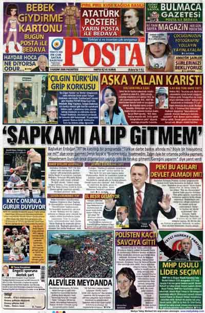 Gazete manşetleri (9 Kasım) galerisi resim 17