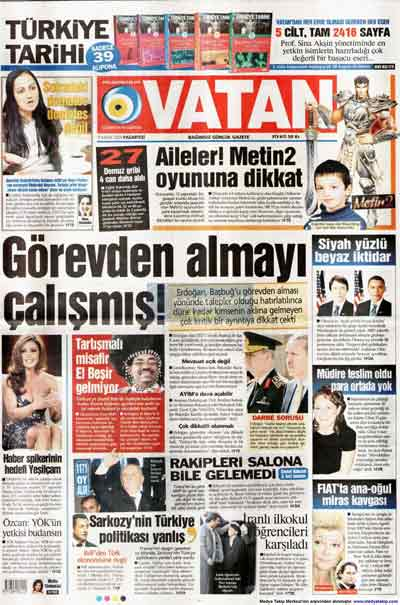 Gazete manşetleri (9 Kasım) galerisi resim 27