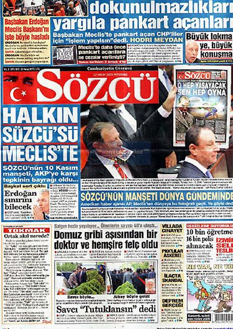 Gazetelerin Albay Çiçek manşetleri galerisi resim 11