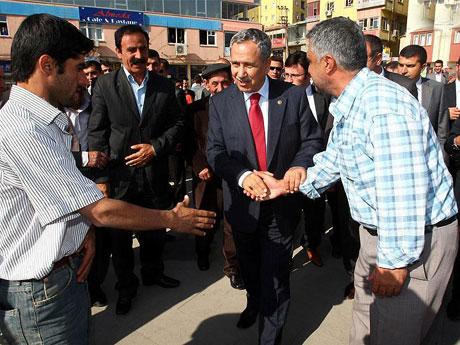 Bülent Arınç'ın Diyarbakır ziyareti galerisi resim 1