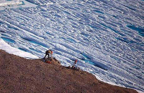 Petermann buzulu böyle eriyor galerisi resim 2
