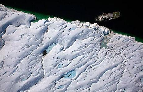 Petermann buzulu böyle eriyor galerisi resim 6