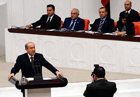 Meclis'teki tarihi günün fotoğrafları! galerisi resim 18
