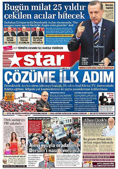 Gazetelerin açılım manşetleri galerisi resim 10