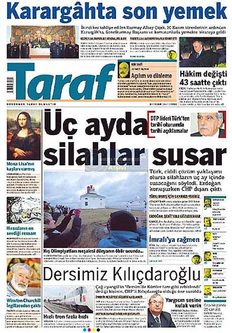 Gazetelerin açılım manşetleri galerisi resim 11