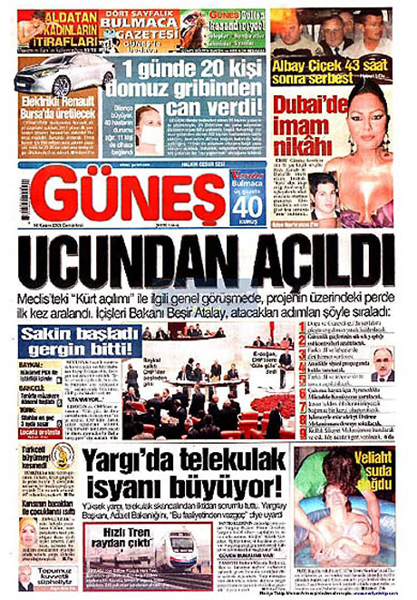 Gazetelerin açılım manşetleri galerisi resim 13