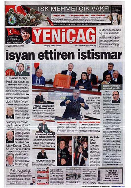 Gazetelerin açılım manşetleri galerisi resim 15