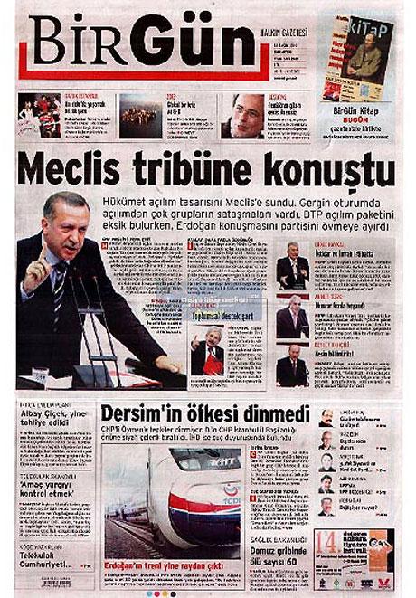 Gazetelerin açılım manşetleri galerisi resim 18