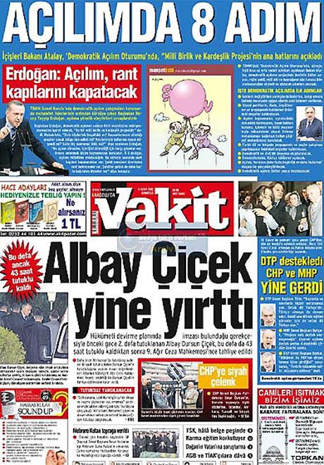 Gazetelerin açılım manşetleri galerisi resim 4