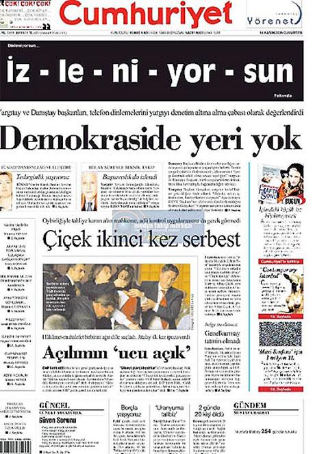 Gazetelerin açılım manşetleri galerisi resim 5