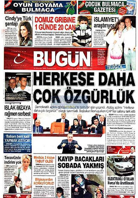 Gazetelerin açılım manşetleri galerisi resim 9