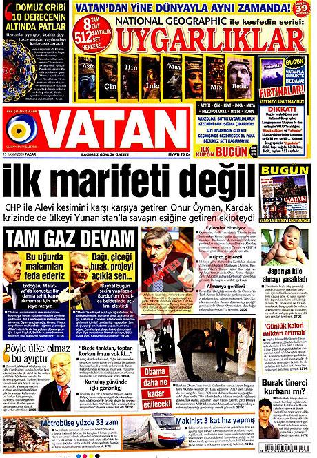 Gazete manşetleri (15 Kasım) galerisi resim 18