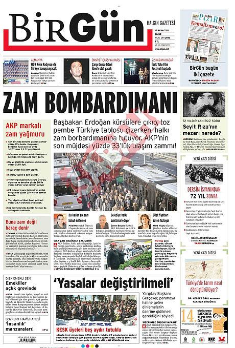 Gazete manşetleri (15 Kasım) galerisi resim 2