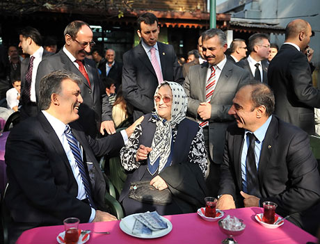Cumhurbaşkanı halkla çay içti! galerisi resim 11