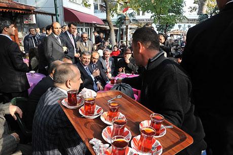 Cumhurbaşkanı halkla çay içti! galerisi resim 14