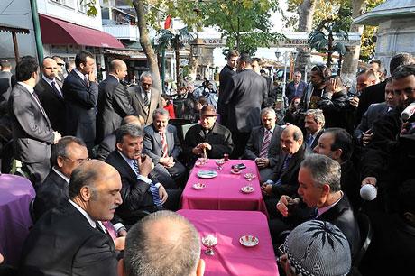 Cumhurbaşkanı halkla çay içti! galerisi resim 16