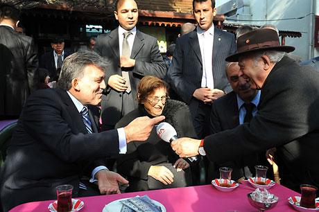 Cumhurbaşkanı halkla çay içti! galerisi resim 18