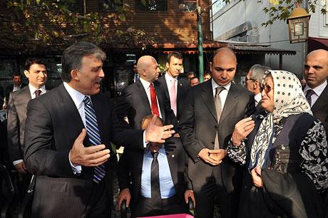 Cumhurbaşkanı halkla çay içti! galerisi resim 9