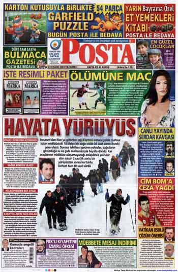 Gazete Manşetleri (23 Kasım) galerisi resim 11