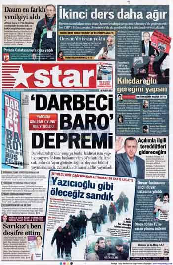 Gazete Manşetleri (23 Kasım) galerisi resim 14