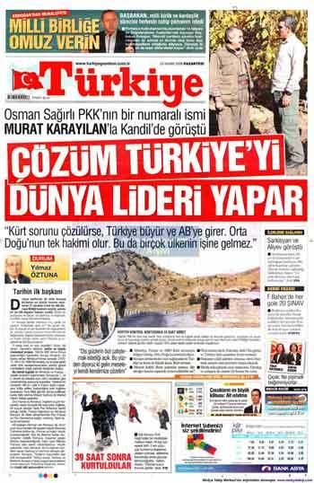 Gazete Manşetleri (23 Kasım) galerisi resim 17