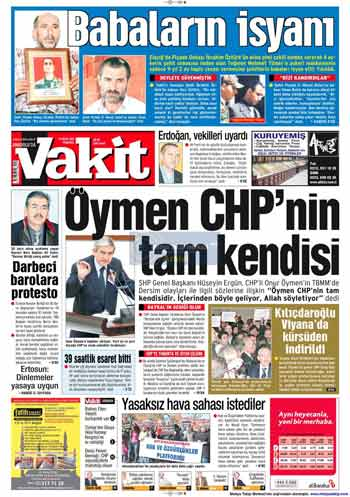 Gazete Manşetleri (23 Kasım) galerisi resim 18