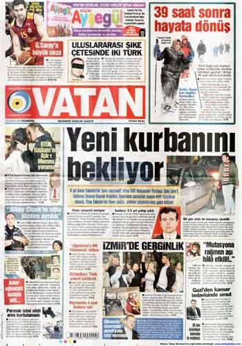 Gazete Manşetleri (23 Kasım) galerisi resim 19