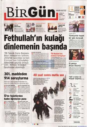 Gazete Manşetleri (23 Kasım) galerisi resim 2