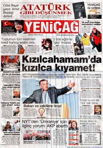 Gazete Manşetleri (23 Kasım) galerisi resim 21
