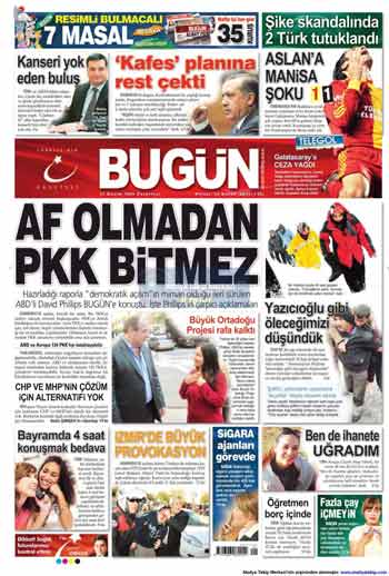 Gazete Manşetleri (23 Kasım) galerisi resim 3