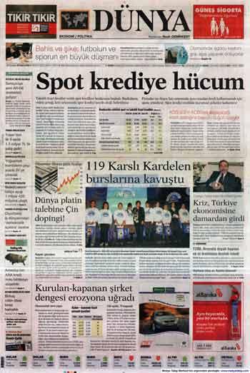 Gazete Manşetleri (23 Kasım) galerisi resim 5