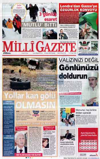 Gazete Manşetleri (23 Kasım) galerisi resim 9