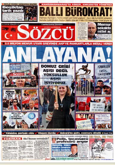 Gazete Manşetleri (26 Kasım) galerisi resim 10