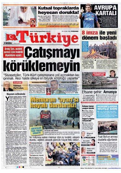 Gazete Manşetleri (26 Kasım) galerisi resim 12