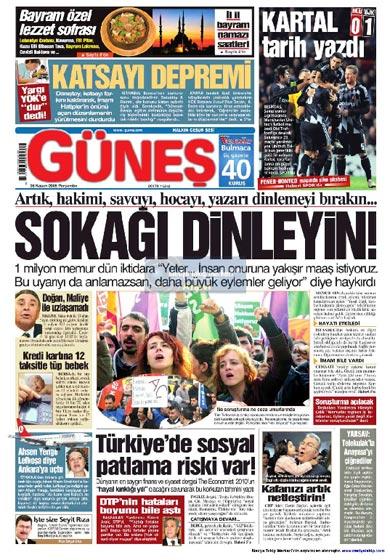 Gazete Manşetleri (26 Kasım) galerisi resim 14