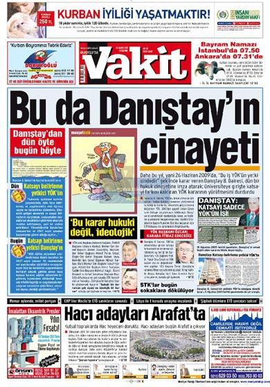 Gazete Manşetleri (26 Kasım) galerisi resim 15