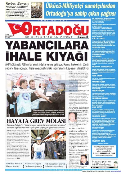 Gazete Manşetleri (26 Kasım) galerisi resim 21