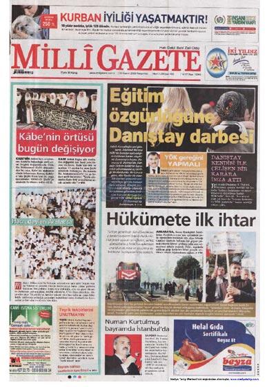 Gazete Manşetleri (26 Kasım) galerisi resim 23