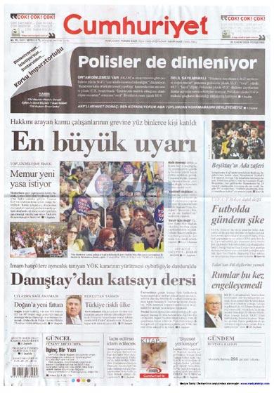 Gazete Manşetleri (26 Kasım) galerisi resim 6