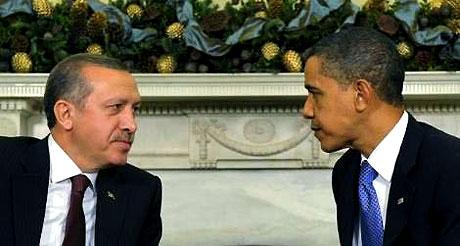 Obama-Erdoğan görüşmesinden kareler galerisi resim 1