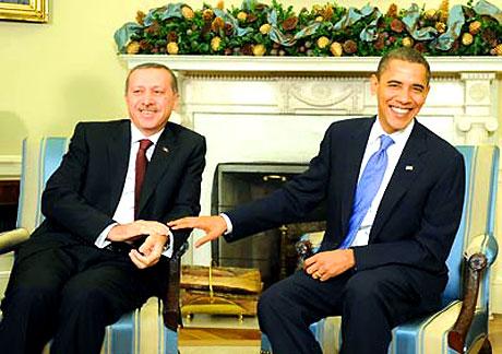 Obama-Erdoğan görüşmesinden kareler galerisi resim 10