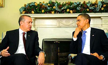 Obama-Erdoğan görüşmesinden kareler galerisi resim 11