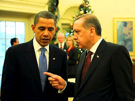 Obama-Erdoğan görüşmesinden kareler galerisi resim 12