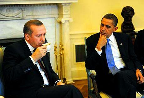 Obama-Erdoğan görüşmesinden kareler galerisi resim 13