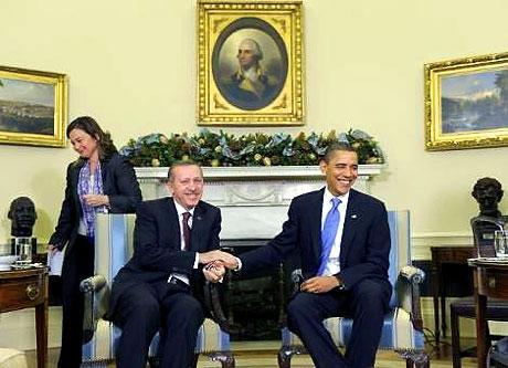 Obama-Erdoğan görüşmesinden kareler galerisi resim 16