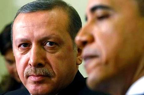 Obama-Erdoğan görüşmesinden kareler galerisi resim 19