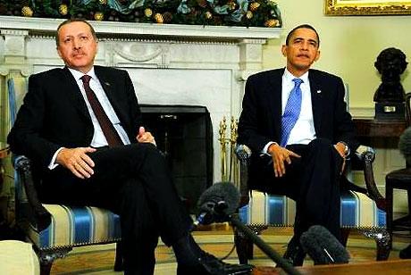 Obama-Erdoğan görüşmesinden kareler galerisi resim 2