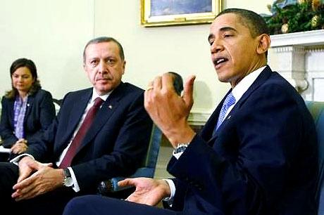 Obama-Erdoğan görüşmesinden kareler galerisi resim 20